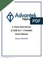 Print Server apsu3100