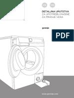 Masina Za Pranje - Uputstvo