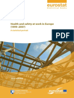 Health and safety at work in Europe STATISTICS EUROSTAT 2010.pdf