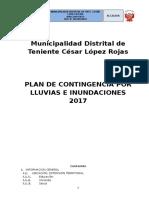 Plan de Contiencia Mdtclr 2017