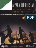 Cordain Loren Y Friel Joe - Paleodieta Para Deportistas.pdf
