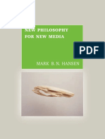 Mark B.N. Hansen-New Philosophy for New Media -The MIT Press (2004)