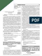 Modifican la Norma Técnica para la Implementación de los Compromisos de Desempeño 2017 aprobada por R.M. N° 695-2016-MINEDU modificada por R.M. N° 112-2017-MINEDU