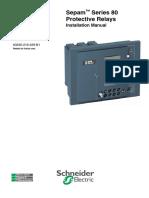SEPAM S80 - Manual Instalação.pdf