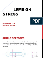 Problems on Simple Stress(Lec 4b)