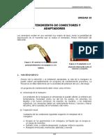 9 Mantenimiento de Conectores y Adaptadores