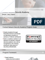 fortinet  program overview