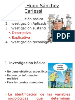 Tipos de Investigacion - Carlessi