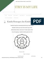 Katalis Homogen Dan Katalis Asam Basa _ Chemistry is My Life