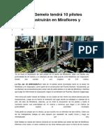El Puente Gemelo tendrá 10 pilotes que se construirán en Miraflores y Sopocachi.docx