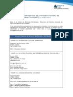 Listado Efectores Perifericos FVG
