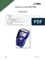 Procédures de Test Avec Le HST-3000_Fev09
