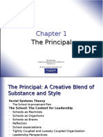 Chapter 1 - Principalship - Lecture Notes William Allan Kritsonis, PhD