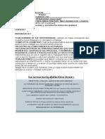 Secuencia Didactica Nº1