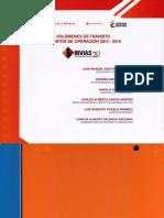 Volumenes de Transito 2014-2015