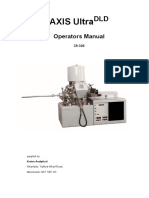 AXIS UltraDLD - Operators Manual