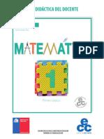 Matemática 1º Básico-Guía Didáctica Del Docente