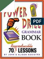 Grammar drills