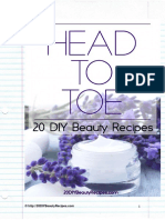 Beauty Recipes eBook