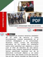 Ppt_ planificación Curricular Secundaria