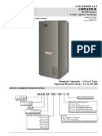 Lennox Cbx27uh Air Handler Data