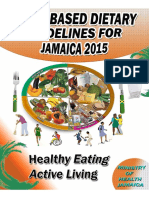 Dietary Based Guidelines for Jamaicans