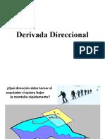 1.6 Derivada Direccional