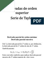 1.7- Serie de Taylor