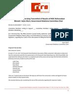 RIRA Resolution 2017 Referendum Results