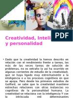 Creatividad Inteligencia y Personalidad
