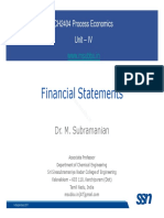 Eco Lecture 09 FinancialStatements