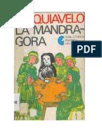 LA MANDRAGORA - Nicolas de Maquiavelo