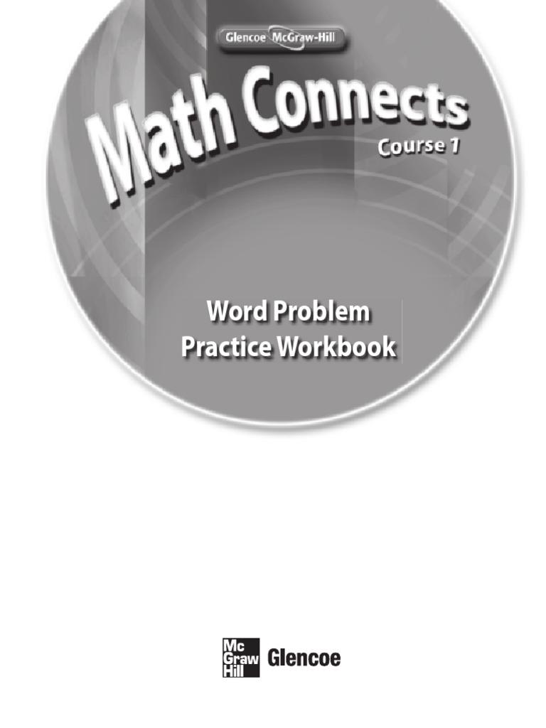 Workbooks glencoe biology workbook : glencoe math (2).pdf | Fraction (Mathematics) | Elementary Mathematics