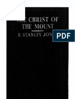 Christ of the Mount - E. Stanley Jones