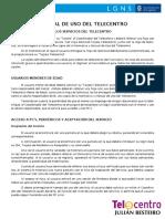 Normas de Uso Telecentro Julian Besteiro