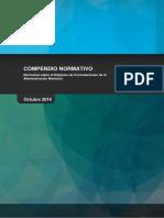 Compendio Normativo 2016 Actualizado Octubre 2016