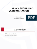 AUDITORÍA Y SEGURIDAD LA INFORMACIÓN