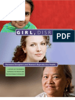 Girl, Disrupted Hormone Disruptors and Women's Reproductive Health