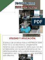 Banco de Pruebas Hatridge Pgm 10-12