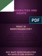 Responsabilities