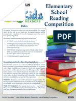 Q-Kids Readers-Elementary School Reading Competition 2016