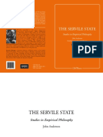 Anderson, John - The Servile State
