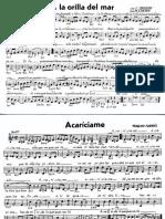 Partituras Canciones (Boleros, Mambos, Tangos, Sones)