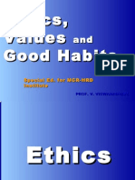 20100721 - Ethics, Values and Good Habits - MCR HRD Ed. -