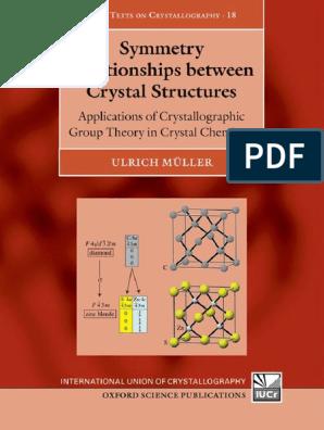 Ulrich Muller Symmetry Relationships Between Crystal