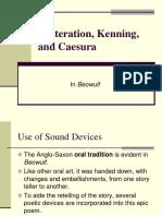 Alliteration Kenning and Caesura