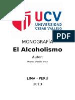 MONOGRAFIA ALCOHOLISMO