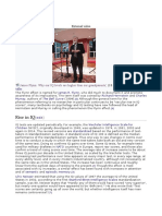 Efectul Flynn,Psihodiagnostic Sem 2