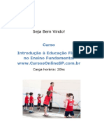 Curso Introdu o Educa o f Sica No Ensino Fundamental 59655