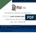 Álgebra Lineal II-Autovalores y Autovectores